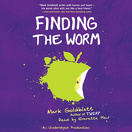Finding the Worm (Twerp Sequel) audiobook cover art