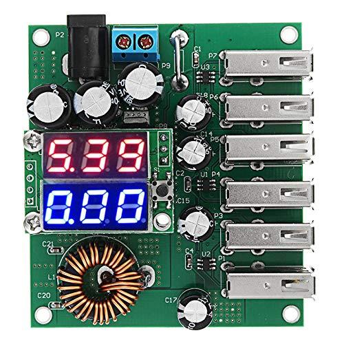 Liangcha-0401 Suministro Directamente de fábrica 10-30V a 5V 8A DC-DC 6 USB...