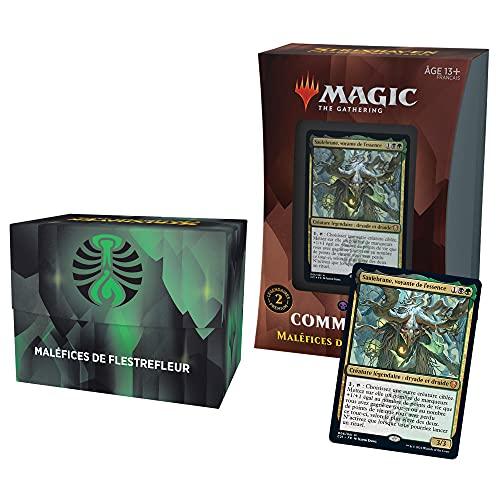 Deck Commander Magic: The Gathering Strixhaven – Maléfices de Flestrefleur (Noir-Vert)
