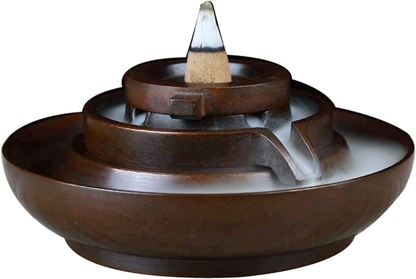 TUQIAODIAN Very popular Waterfall online shop Incense Inc Burner Backflow