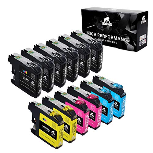 IKONG Compatible Ink Cartridge Replacement for Brother LC203 LC203XL Works with Brother MFC-J480DW,J680DW,J485DW,J885DW,J460DW,J880DW,MFC-J4420DW,J4620DW,MFC-J4320DW,J5620DW,J5520DW, J5720DW(12-Pack)