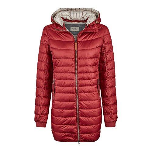 Camel Active Womenswear Damen Steppjacke Jacke 320820, Rot (Red 50), 36 (Herstellergröße: 10)
