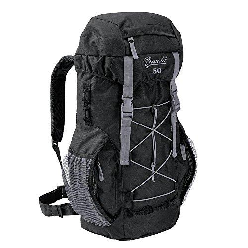 Brandit Back Bag Rucksack Aviator 50 schwarz