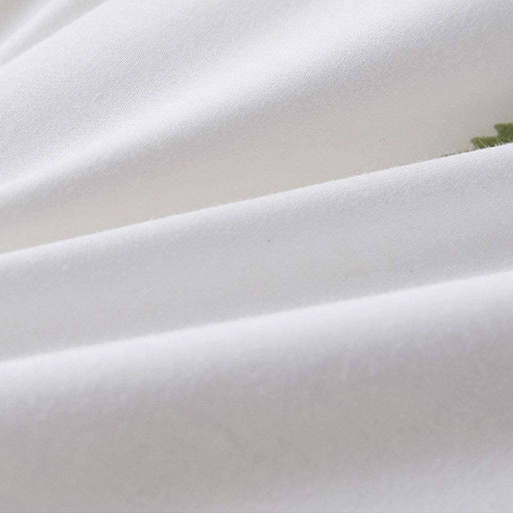 COTTONN garçons Filles Couverture de Courtepointe for Enfants Adolescents literie de Couleur Unie 47 * 59 Pouces épaissir approprié for l'automne et l'hiver (Color : C) A