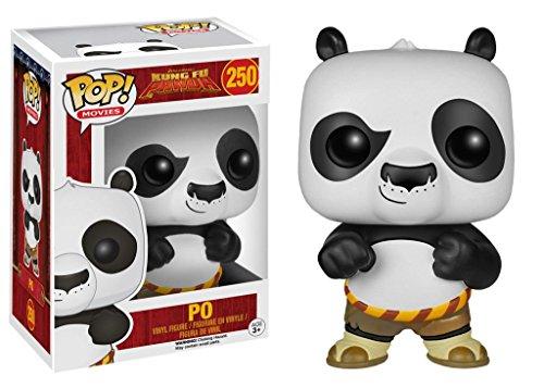 Funko Pop Movies Kung Fu Panda Po Vinyl Action Figure 4560 Collectible Toy 3.75'