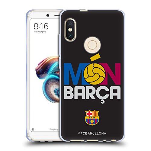 Head Case Designs Oficial FC Barcelona Mon Barca 2017/18 Campions Carcasa de Gel de Silicona Compatible con Xiaomi Redmi Note 5 / Pro