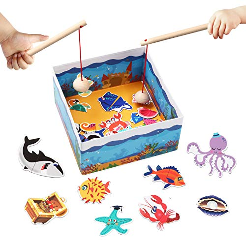 (70% OFF Coupon) Magnetic Fishing Game Ages 3+ $5.70