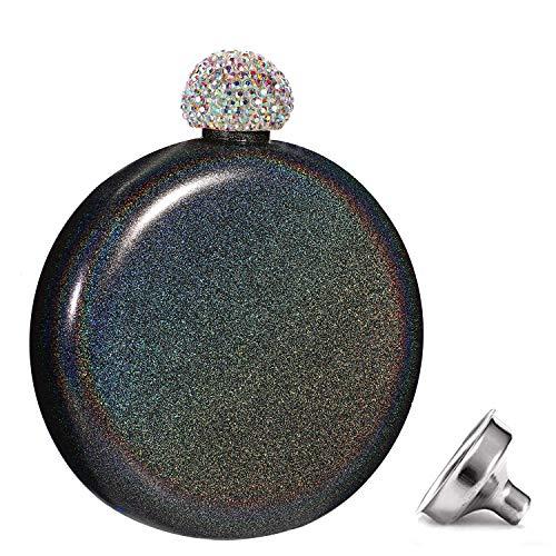 Fiaschetta con glitter. Glitter Black