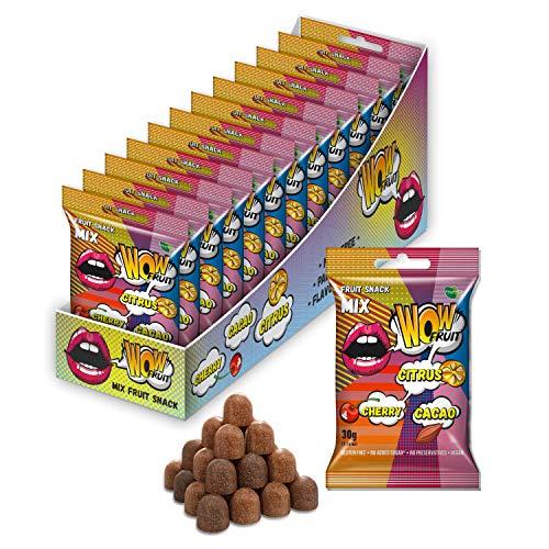 WOW fruit snack *100 % fruchtsnack Wow ohne Zuckerzusatz | vegan | glutenfrei | ohne...
