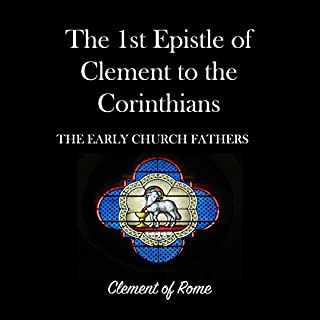 The 1st Epistle of Clement to the Corinthians audiobook cover art
