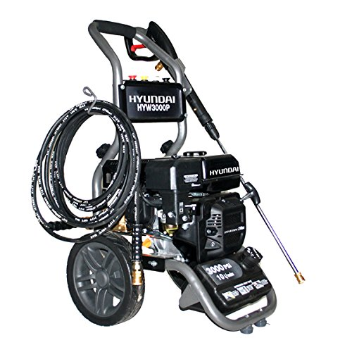 Hyundai 3000 PSI 7 HP Portable Petrol Pressure Washer HYW3000P
