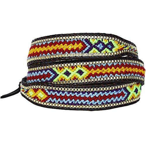 Nakamol Bracelet à enrouler Multicolore