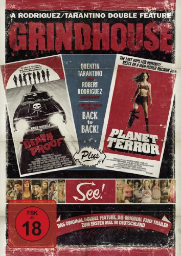 Grindhouse: Death Proof & Planet Terror [Alemania] [DVD]