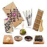 Reishunger Sushi Box, Komplett-Set zum Selbermachen mit Rezeptkarte. Original Japanische Zutaten – perfekt auch als Geschenk