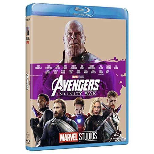 Avengers Infinity War 10° Anniversario Marvel Studios brd ( Blu Ray)