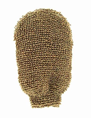 Riffi Indischer Massagehandschuh aus Flachs/Baumwolle
