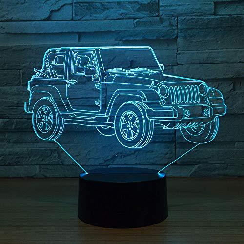 Jeep Bunte Lichter Schlafzimmer Büro Wohnkultur Schreibtisch Schreibtischlampe Kindernachtlicht