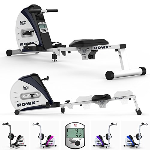 We R Sports Premium Rowing Machine Elastic Cord Resistance Body Tonner Home Rower Fitness Cardio Workout Weight Loss