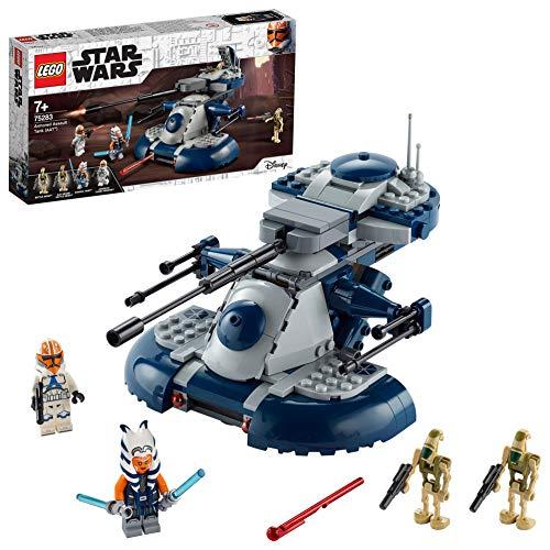 LEGOStarWarsArmoredAssaultTank(AAT)GiocattoloAhsokaTanoeIlSuoCloneTrooper,SetdiCostruzioni,75283