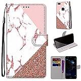 Gift_Source Huawei P10 Lite Coque, [Modèle 16] Étui Portefeuille Housse en Cuir PU Flip Case...
