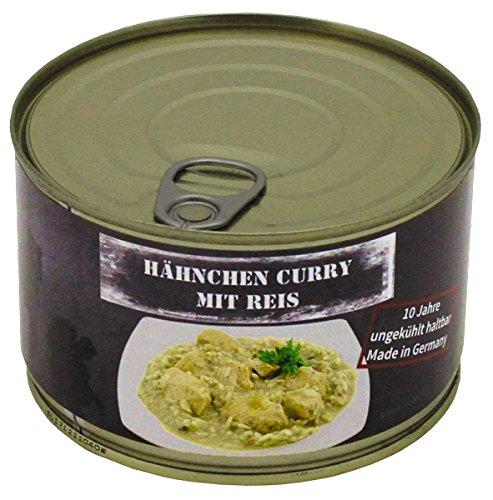 Kip Curry met rijst, conserven, 400 g