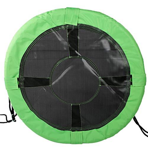 Disco de columpio, cuerda de trabajo pesado ajustable, equipo de patio de recreo y cuerda de nailon de 600d Oxford