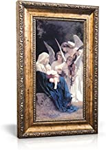 Saint Joseph Communications Song of Angels - Framed Canvas 6 x 11 (Including Frame: 9.5 x 14.5)