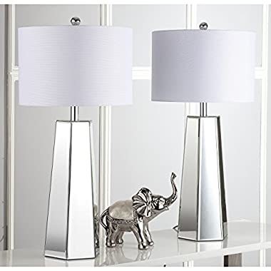 Safavieh Lighting Collection Janice Clear 31.5-inch Table Lamp (Set of 2)