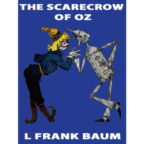 The Scarecrow of Oz audiobook cover art