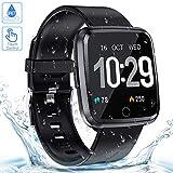 Zagzog Smartwatch Smart watch Impermeabile IP68 Fitness Tracker GPS Orologio intelligente sportivo...