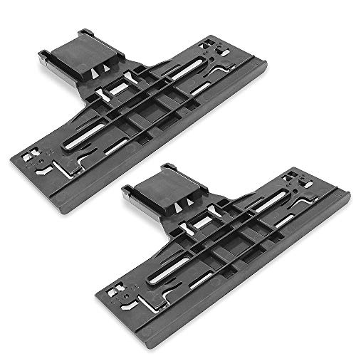 W10546503 Upgraded Dishwasher Upper Rack Adjuster Replacement for Kitchenaid Whirlpool Dishwasher Parts Replaces W10418314, W10306646, WPW10546503(2 pack)