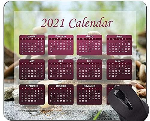 2021 Kalender Mauspad mit Feiertagen, Gebet Yoga Mauspads