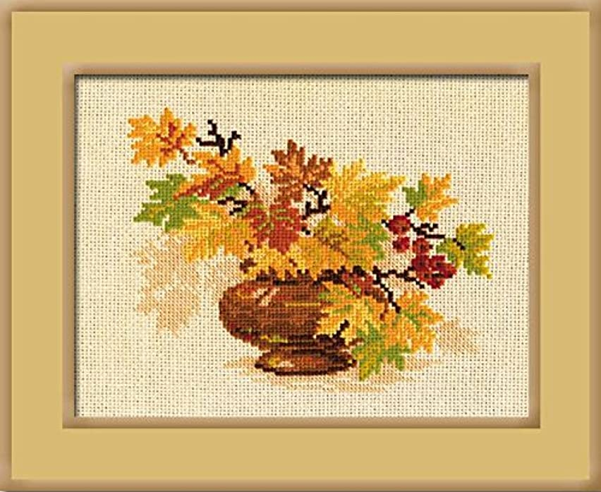 RIOLIS 769 Autumn Boгquet - Counted Cross Stitch Kit - 12