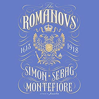The Romanovs audiobook cover art