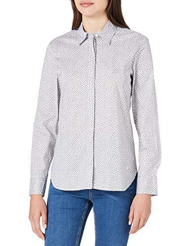 BRAX UNDEFINED Style Victoria Bluse, Khaki, 42