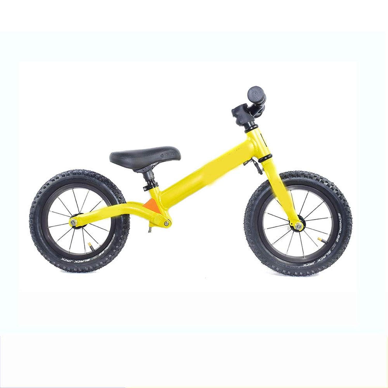 1.5?5歳の幼児向けトレーニングバイク用ローフレーム付き調整可能バランスバイク