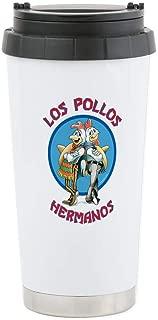 CafePress Los Pollos Hermanos Stainless Steel Travel Mug Stainless Steel Travel Mug, Insulated 16 oz. Coffee Tumbler