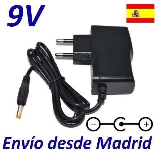 Cargador Corriente 9V Reemplazo Reproductor DVD Mpman PDV196 Recambio Replacement