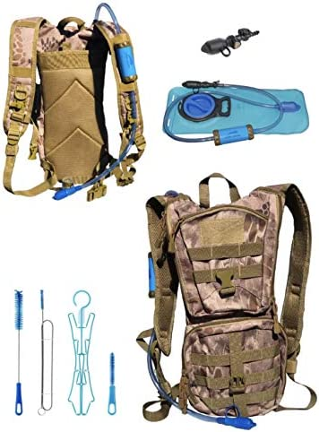 Outtracker All in ONE Tactical MOLLE Hydration Backpack 3500L Water Filtration System 2L Water product image