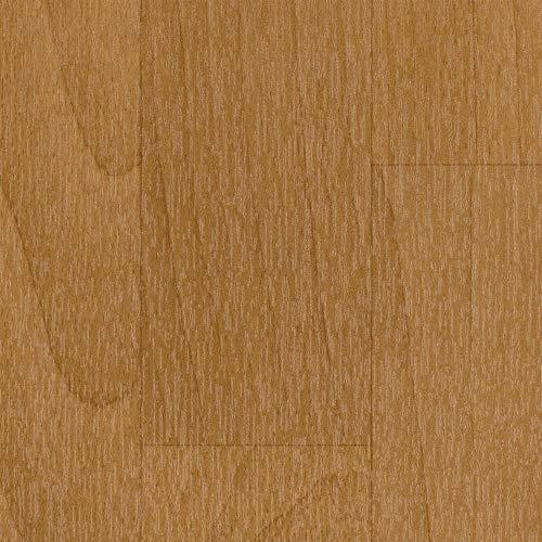 BODENMEISTER BM70605 Vinylboden PVC Bodenbelag Meterware 200, 400 cm breit, Holzoptik Schiffsboden Buche dunkel