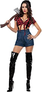 female lumberjack costume