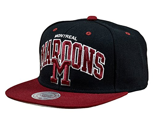 Mitchell & Ness Montreal Maroons Team Arch Snapback Cap ND12Z Kappe Basecap