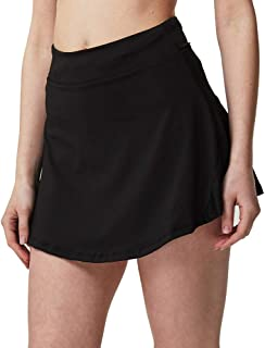 Sobrisah Women's Lightweight Athletic Skort Quick Dry Active Exercise Tennis Golf Running Skirt with Pocket