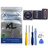 Xlhama - Telecamera posteriore per iPhone se principale modulo di fotocamera di sostituzione di pezzi, sfocato/schermo nero/messa a fuoco automatica con kit di strumenti di riparazione