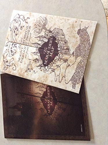 Harry Potter Marauder''s Map Mini- Warner Bros Limited Edition