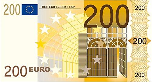 PEARL Badetücher: Strandtuch 200-Euro-Schein 180 x 90 cm (Mikrofaser Badetücher)
