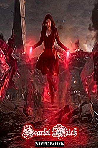 Scarlet Witch: Wanda Maximoff Marvel Women Superhero Gift Notebook Journal 6 x 9 Inches
