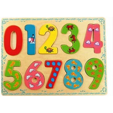 Bino - 88109 - Puzzle à encastrement - Nombres