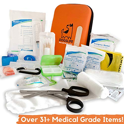 Dog First Aid Kit | Includes Ove...