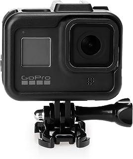 YSTFLY Kunststoffrahmen Halterung für GoPro Hero 8 Schwarz Schutzhülle Gehäuse Gehäuse für GoPro Hero 8 Black Action Kamera (schwarz)